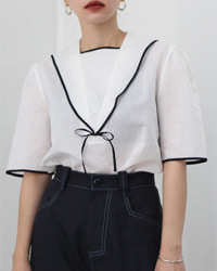 (FRESERA)sailor blouse