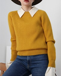 (vincent et mireille)wool knit
