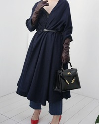 (fog linen work)long cardigan