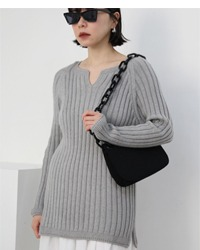 (Fairly) wool knit top